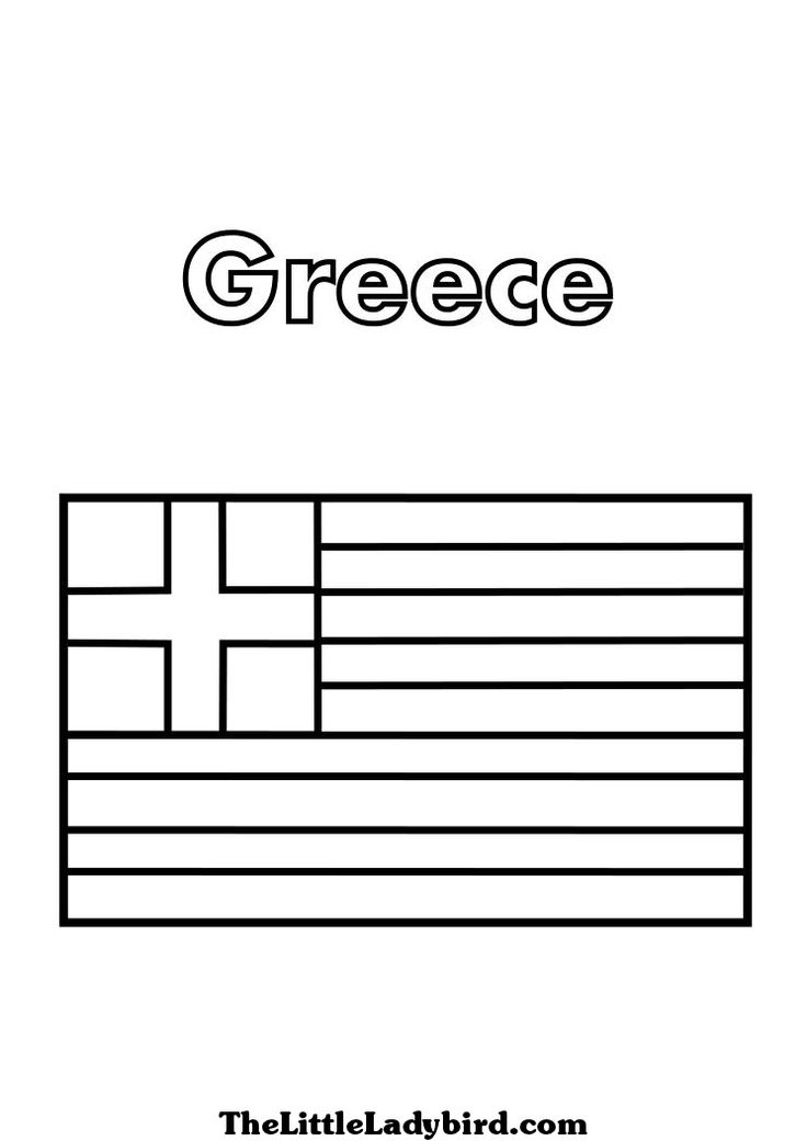 greek flag colouring page greece coloring pages greek coloring pages flag greek colouring page