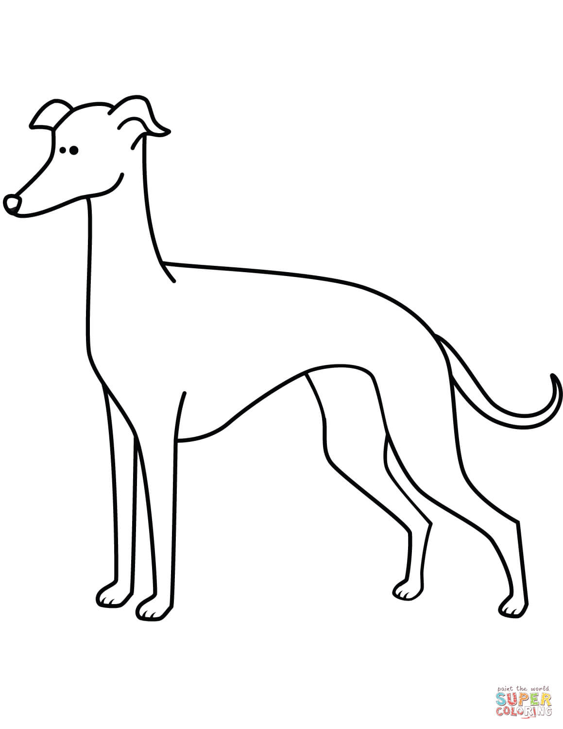 greyhound dog coloring pages greyhound coloring page free dog coloring pages dog greyhound coloring pages