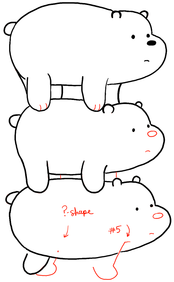 grizzly bear drawing step by step grizzly bear drawing step by step at getdrawings free by step bear step grizzly drawing