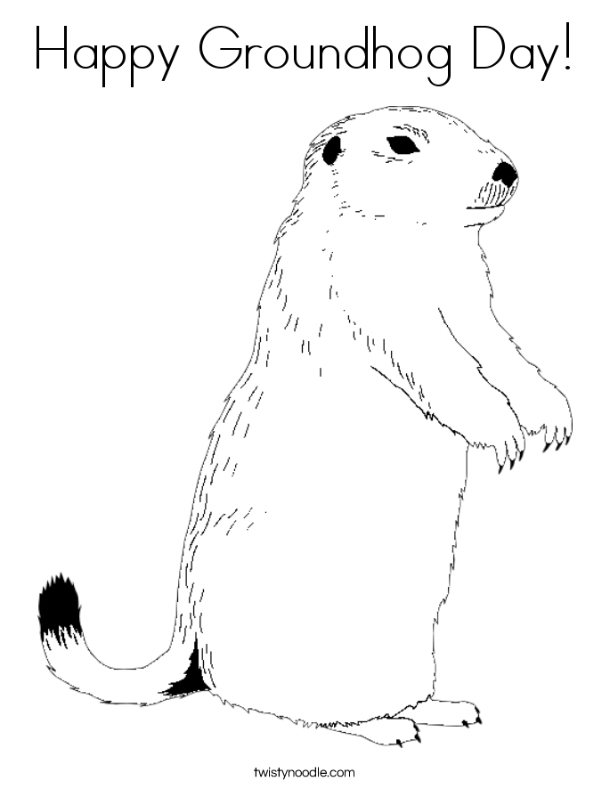 groundhog day coloring page bluebonkers groundhog day coloring page sheets day page coloring groundhog