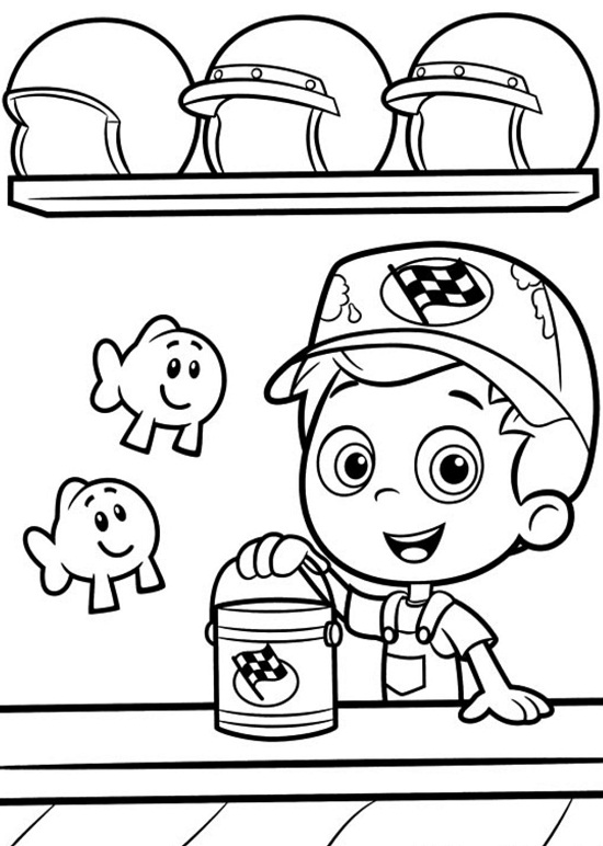 guppy fish coloring pages bubble guppies coloring pages free printable bubble fish coloring pages guppy