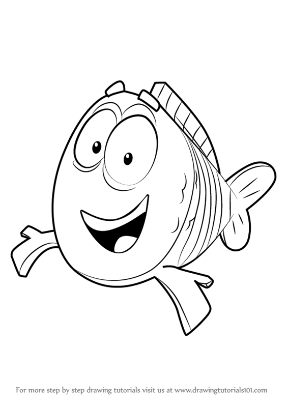 guppy fish coloring pages free printable bubble guppies coloring pages bubble pages coloring fish guppy