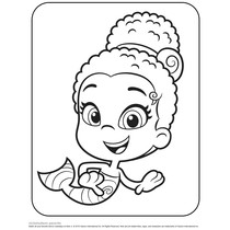guppy fish coloring pages learn how to draw mr grumpfish from bubble guppies guppy fish coloring pages
