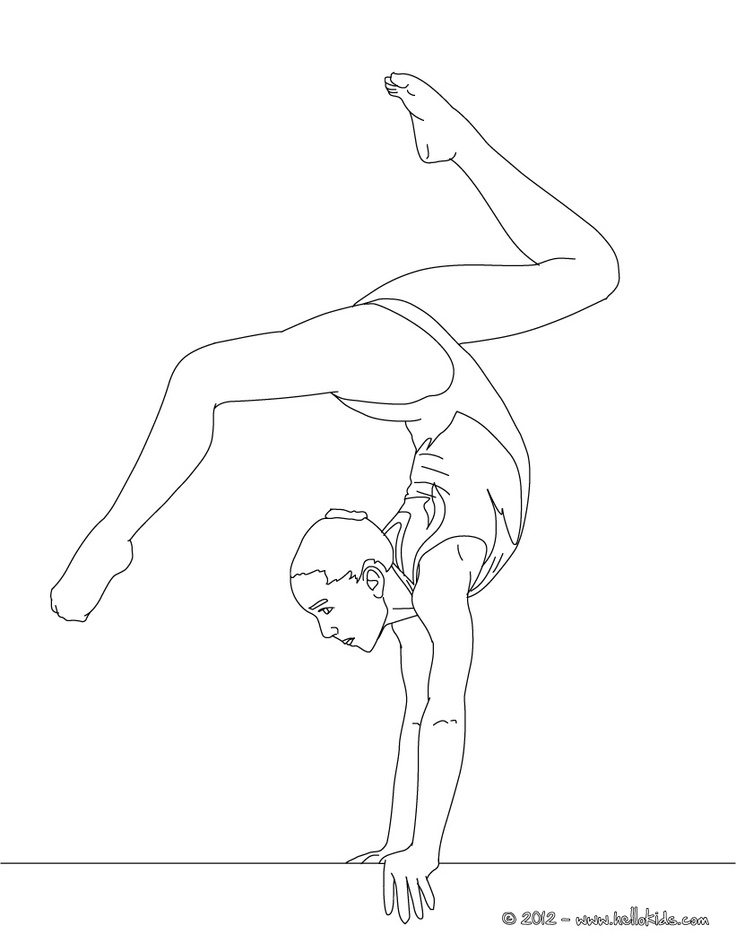 gymnastic colouring pictures 26 best images about gymnastics drawing on pinterest gymnastic pictures colouring