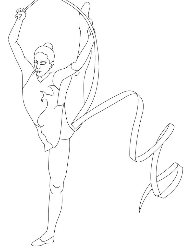 gymnastic colouring pictures free printable gymnastics coloring pages for kids pictures gymnastic colouring
