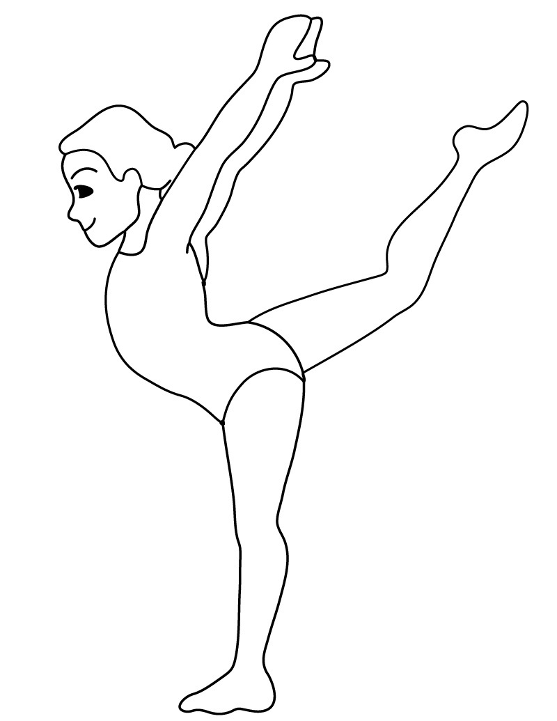 gymnastic colouring pictures free printable gymnastics coloring pages for kids pictures gymnastic colouring 1 1