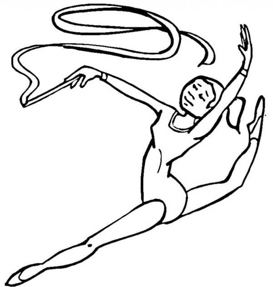 gymnastic colouring pictures get this gymnastics coloring pages free printable q8ix4 pictures colouring gymnastic