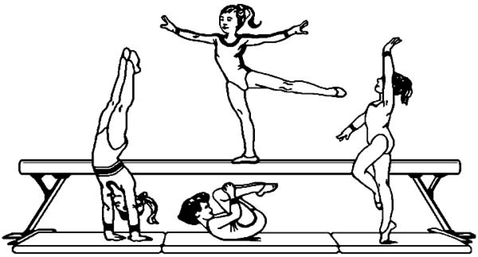 gymnastic colouring pictures get this printable gymnastics coloring pages yzost pictures gymnastic colouring