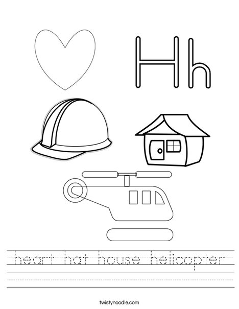 h is for hat hat starts with h worksheet twisty noodle for h is hat
