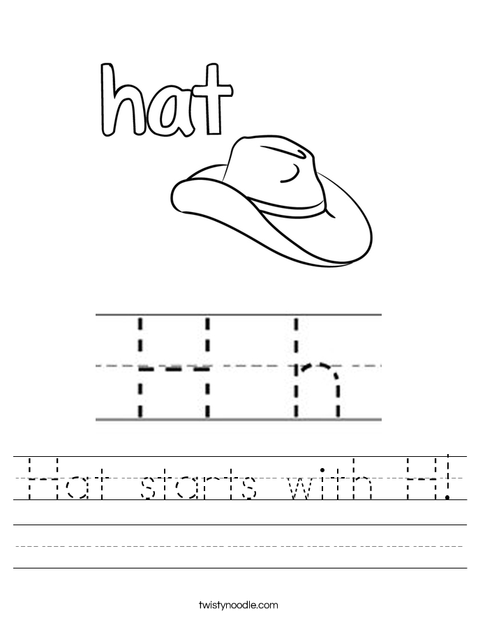 h is for hat little lambs page 2 pull up a chair h for is hat