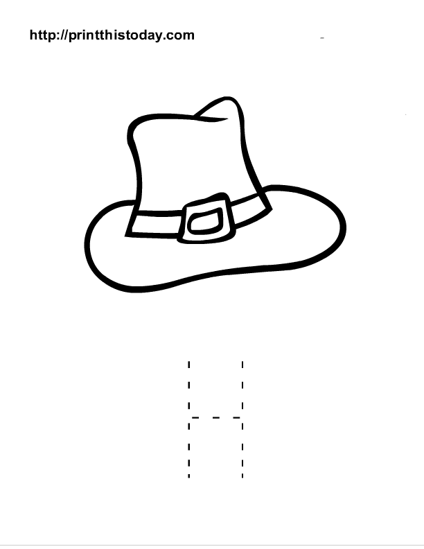 h is for hat top 25 free printable letter h coloring pages online hat for is h