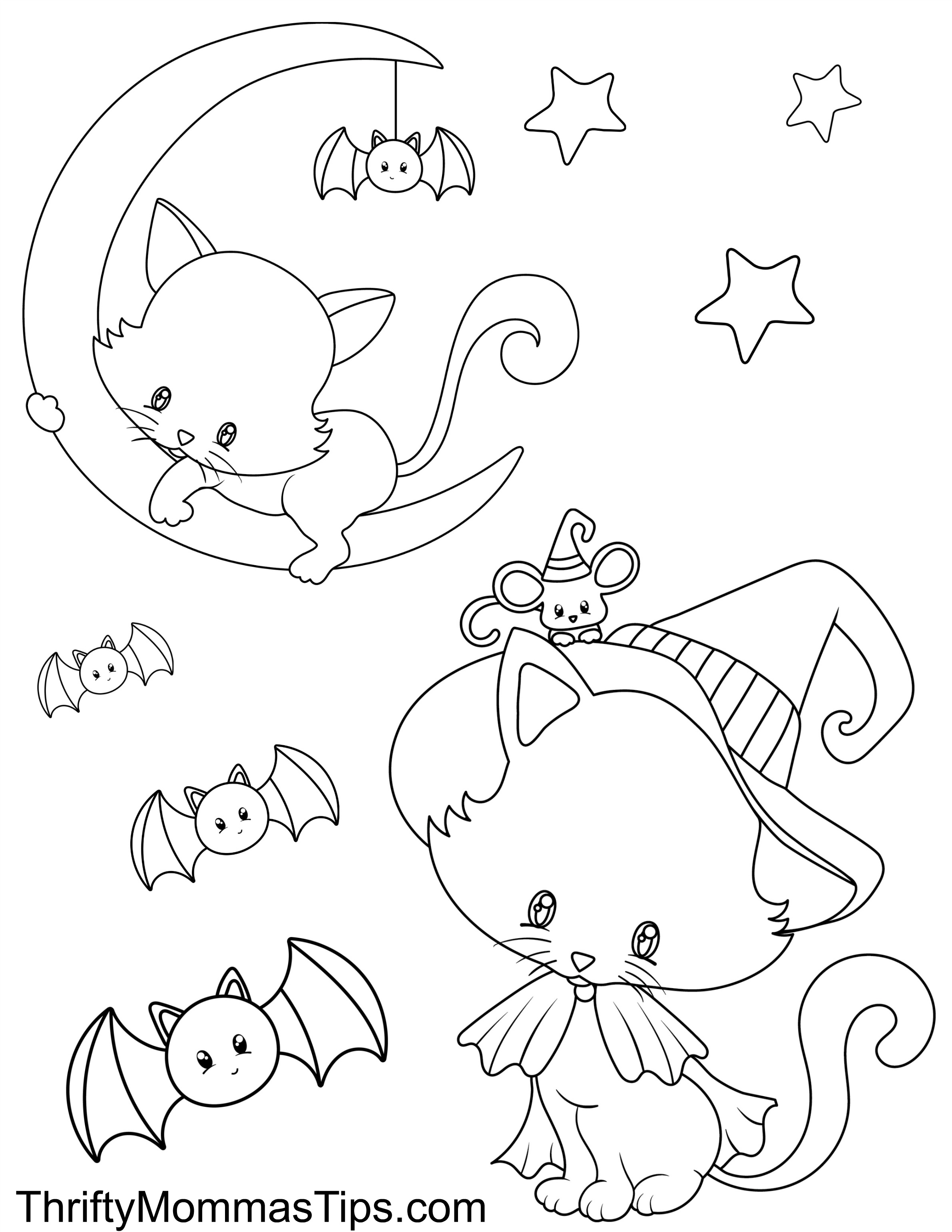 halloween cat coloring page halloween black cat coloring page woo jr kids activities coloring halloween page cat