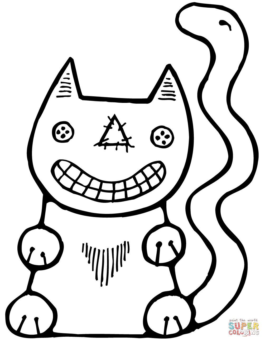halloween cat coloring page halloween cats colouring book 9 pages thrifty mommas tips coloring halloween page cat