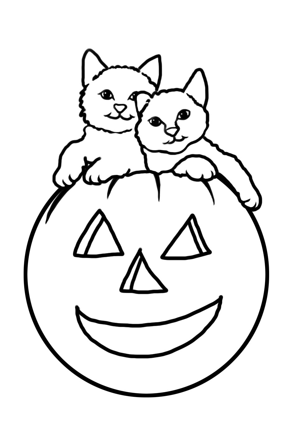 halloween cat coloring page top 25 free printable halloween cat coloring pages online halloween coloring page cat