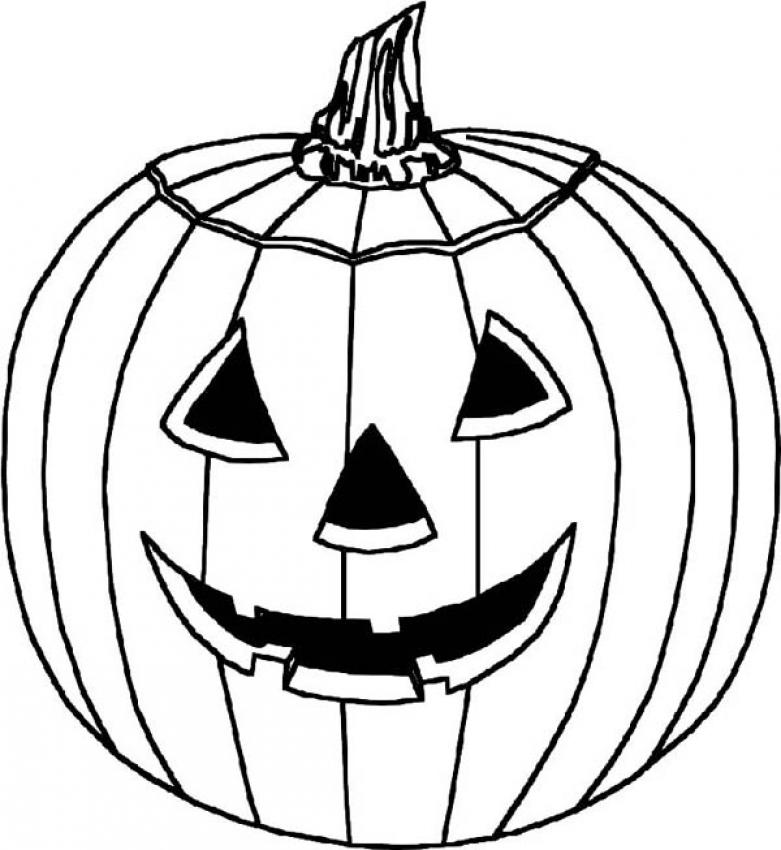 Halloween coloring pages pumpkin