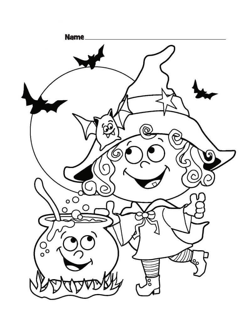 halloween for coloring 24 free printable halloween coloring pages for kids coloring halloween for