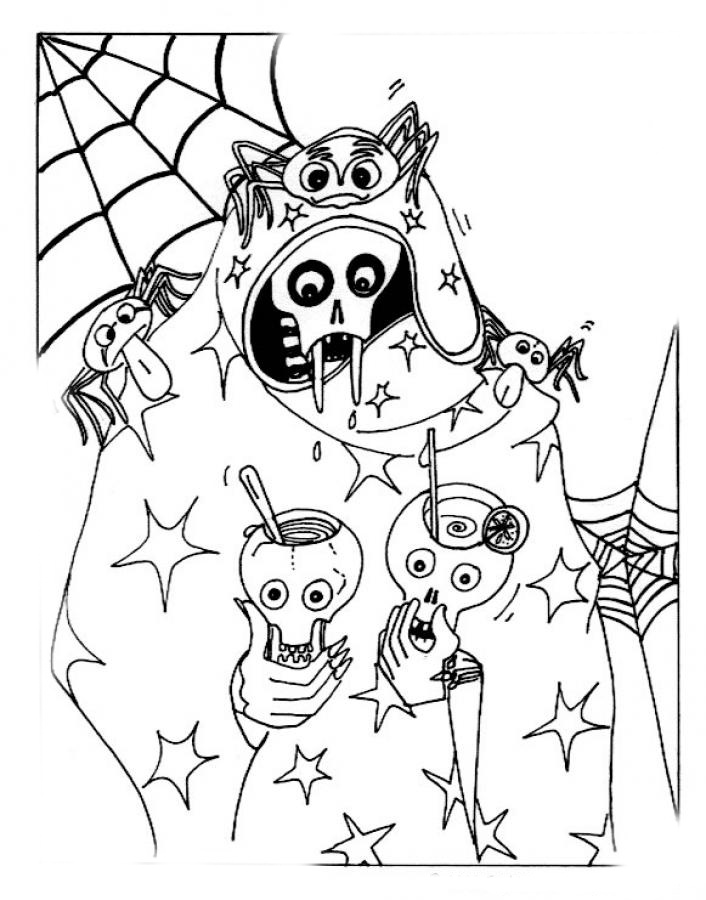 halloween for coloring halloween witch with pumpkins halloween adult coloring pages coloring for halloween