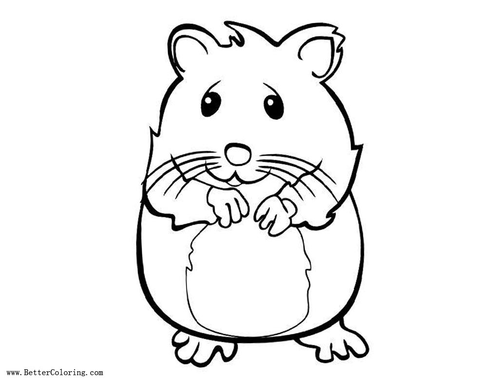 hamster coloring pages to print hamster coloring pages to download and print for free print coloring to hamster pages