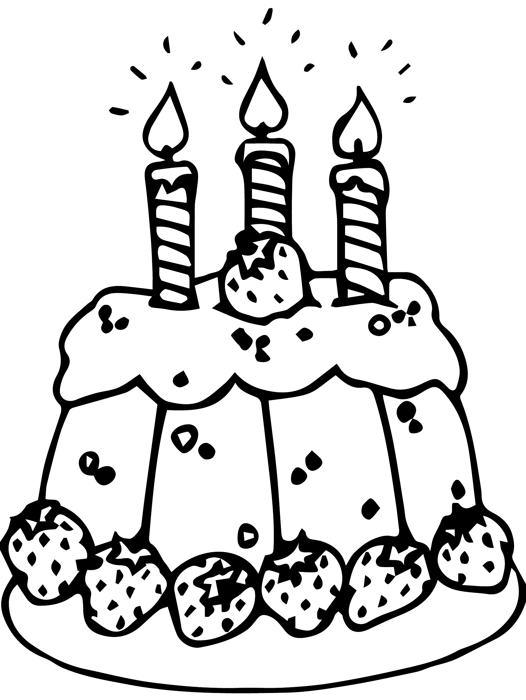 happy 3rd birthday coloring pages birthday coloring pages birthday 3rd pages happy coloring