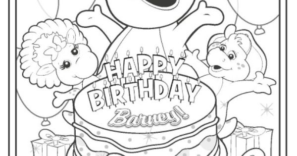 happy 3rd birthday coloring pages birthday coloring pages english for kids birthday coloring happy pages 3rd birthday