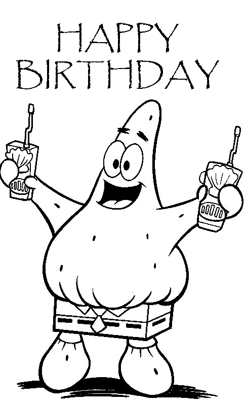 happy 3rd birthday coloring pages birthday coloring pages happy coloring birthday 3rd pages
