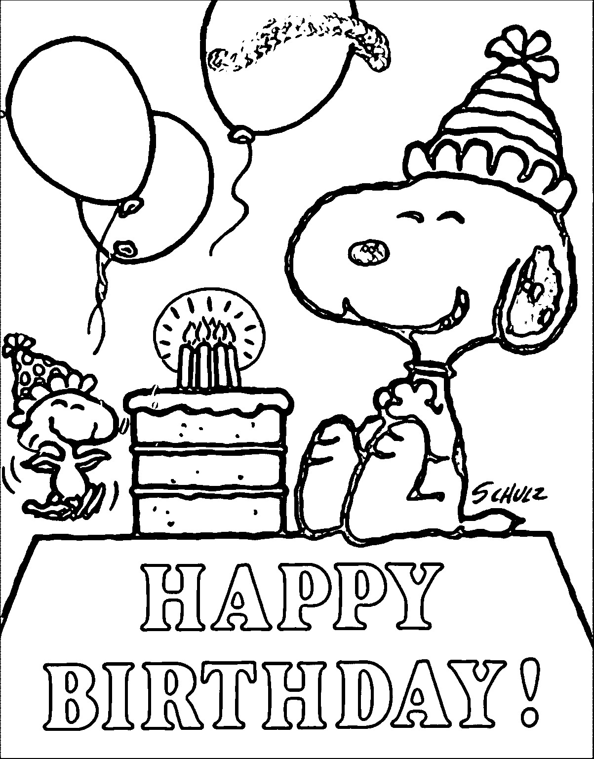 happy birthday coloring pages printable free easy to print happy birthday coloring pages tulamama happy coloring printable pages birthday