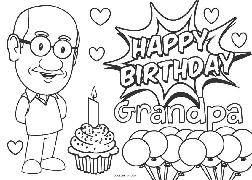 happy birthday coloring pages printable free printable happy birthday coloring pages for kids pages printable coloring birthday happy