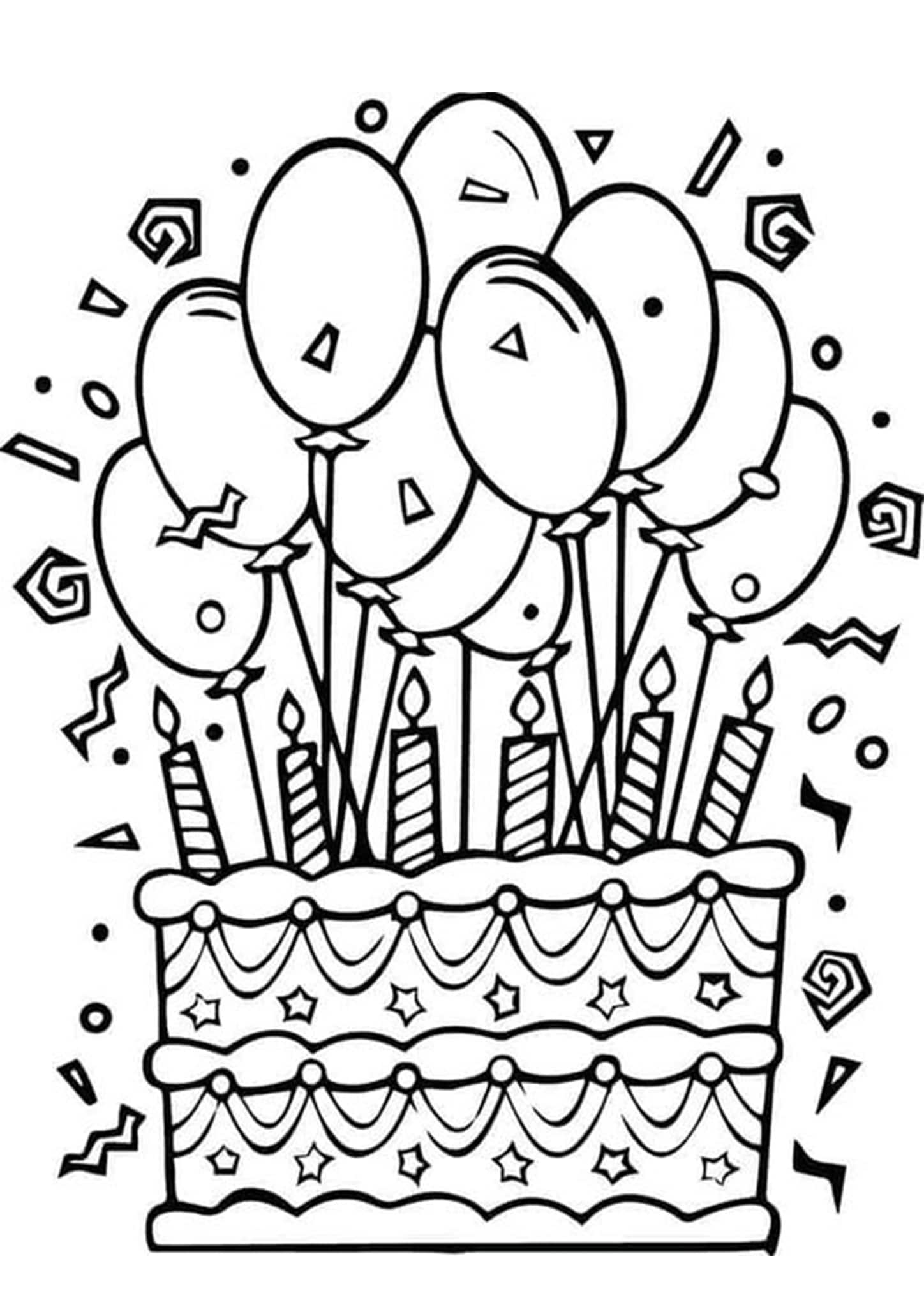 happy birthday coloring pages printable happy birthday coloring card new collection 2020 free coloring pages birthday printable happy