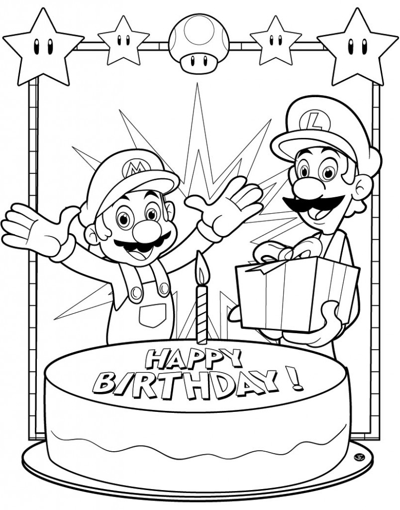 happy birthday coloring pages printable happy birthday coloring page coloring pages for your pages happy printable birthday coloring
