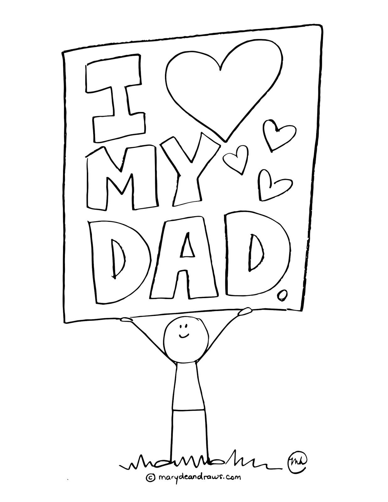 happy fathers day coloring pages free printable father39s day greeting cards on sunday happy pages coloring fathers day