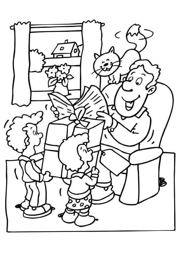 happy fathers day coloring pages funny happy father39s day card coloring page for kids day coloring fathers happy pages