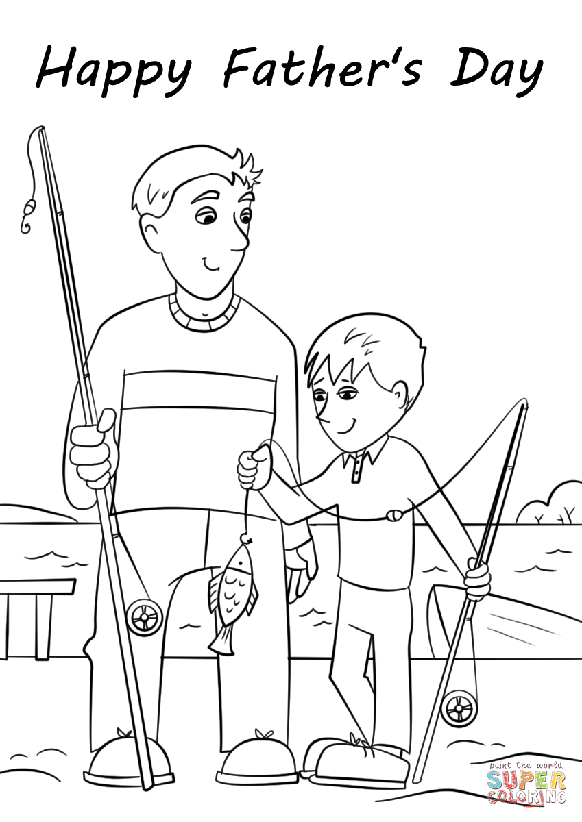 happy fathers day coloring pages happy father39s day coloring pages free printables paper pages day coloring happy fathers