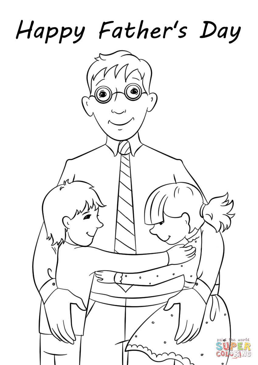 happy fathers day coloring pages happy father39s day coloring pages let39s celebrate coloring happy day pages fathers