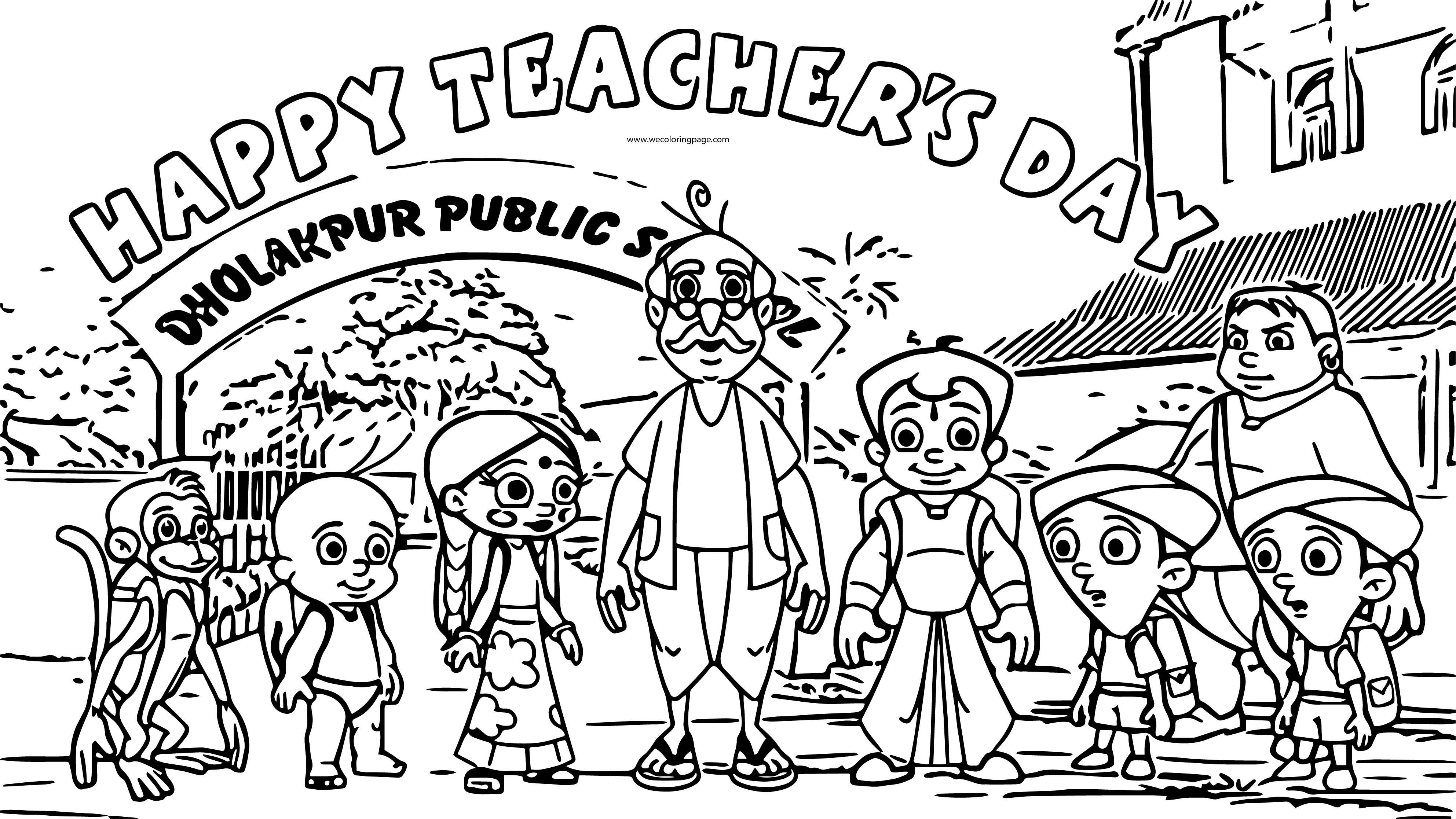 happy friendship day coloring pages chhota bheem friends happy teacher day coloring page day pages happy friendship coloring