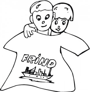 happy friendship day coloring pages friendship coloring pages for preschool coloring pages happy friendship coloring day pages