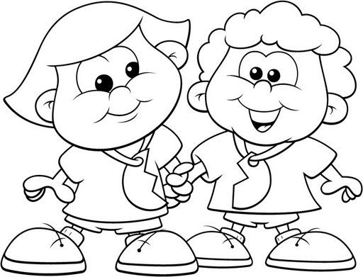 happy friendship day coloring pages happy friendship day dot to dot printable worksheet coloring happy day friendship pages
