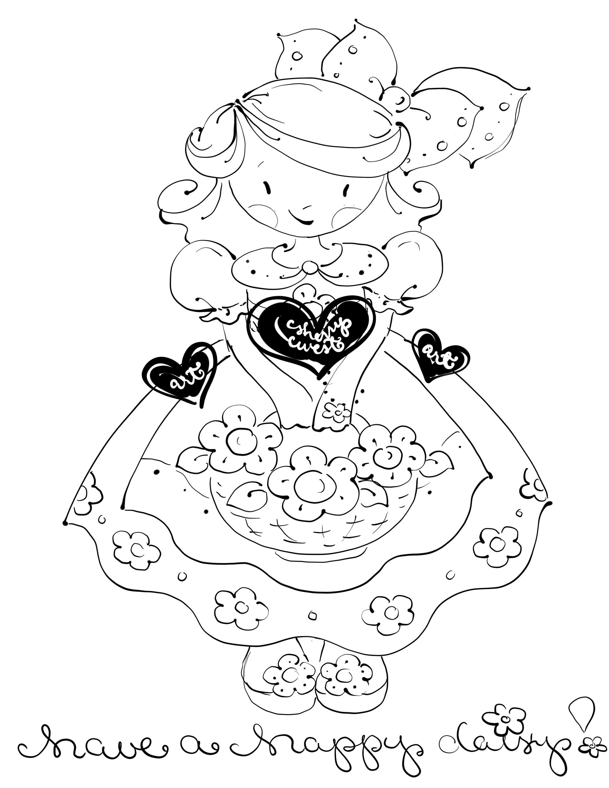 happy friendship day coloring pages have a happy daisy encouragement spring summer girl day friendship happy coloring pages