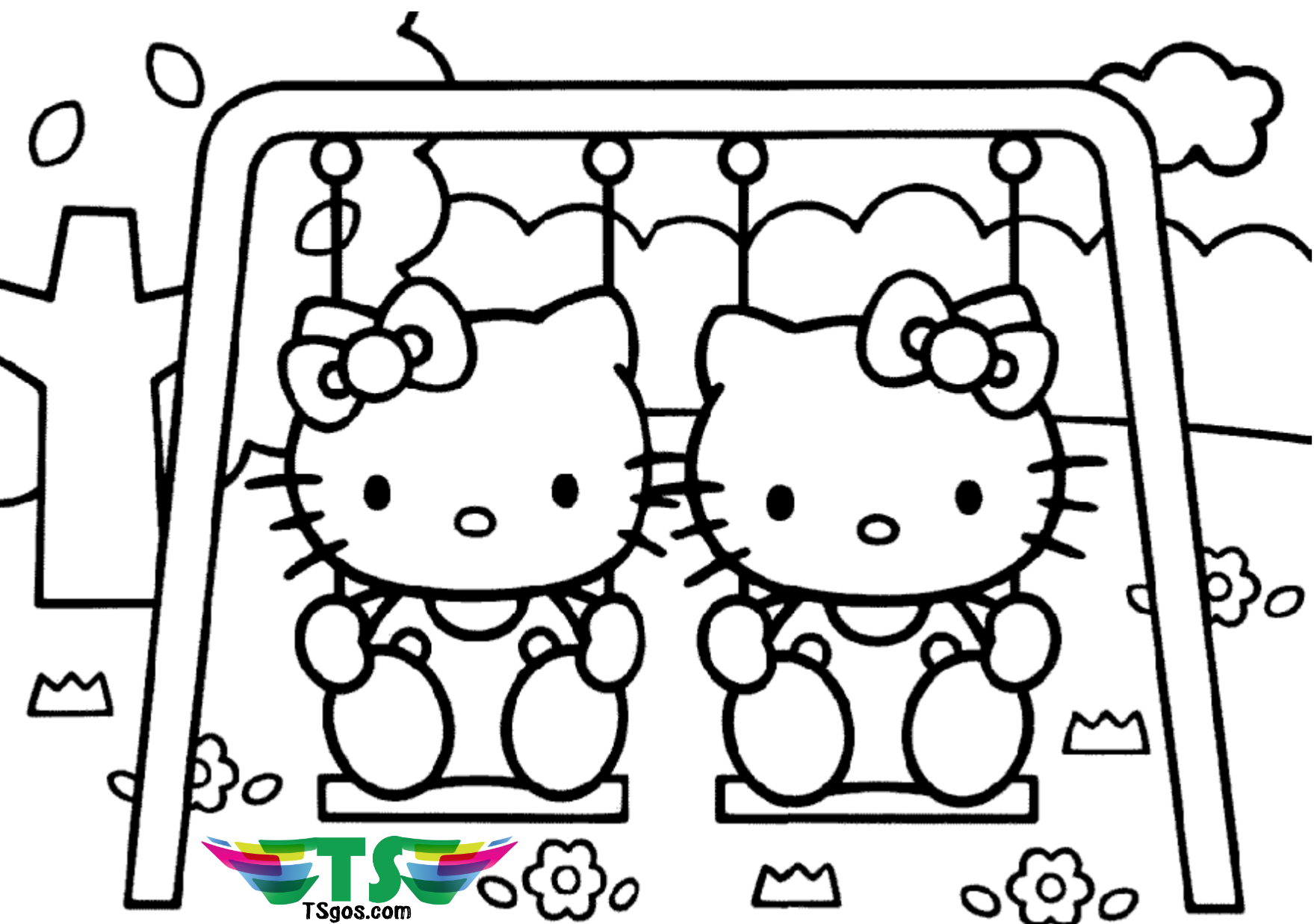 happy friendship day coloring pages hello kitty best friend coloring page tsgoscom coloring pages day friendship happy
