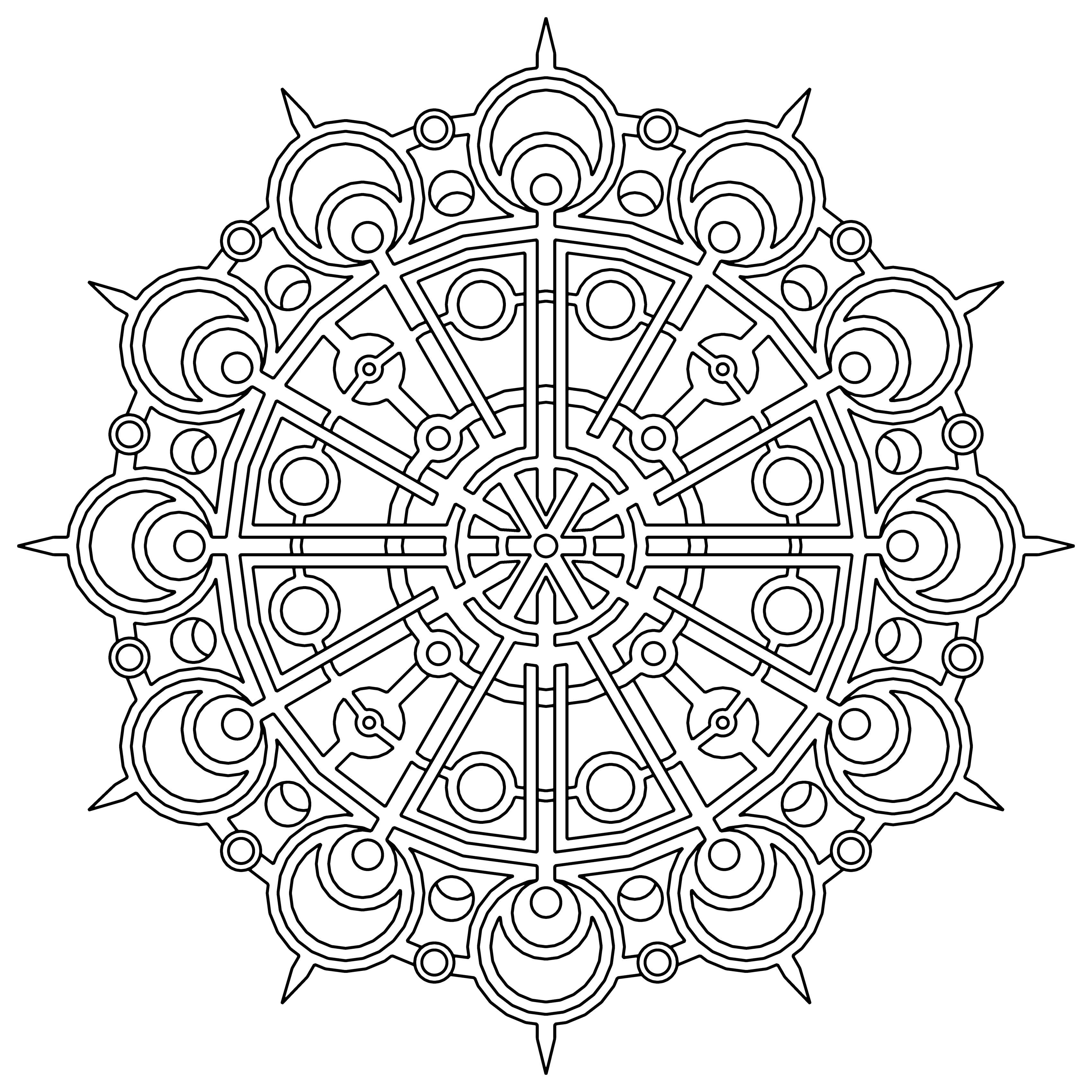 hard design coloring pages free printable geometric coloring pages for adults pages hard design coloring
