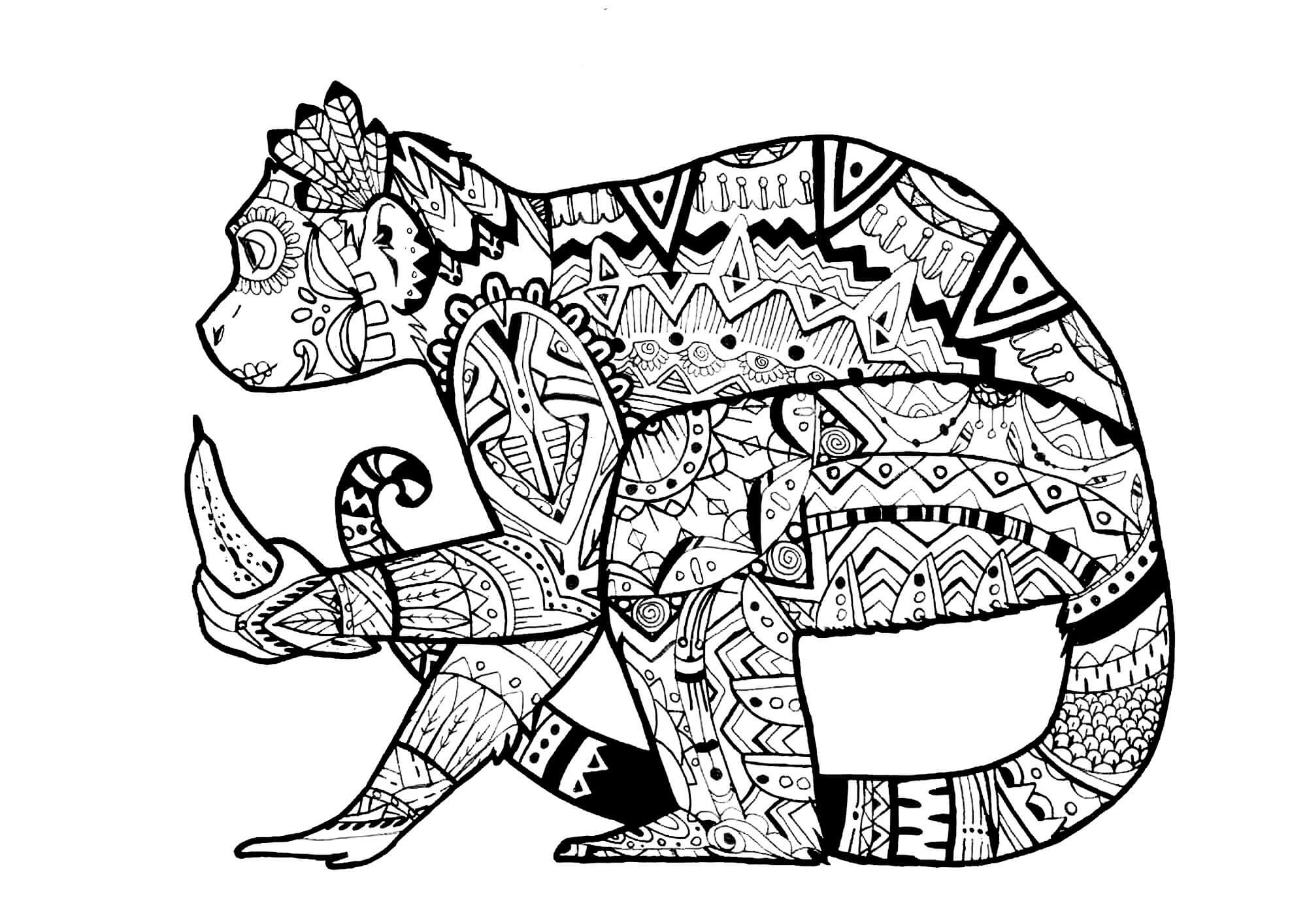 hard drawings to color coloring pages for adults difficult animals 46 coloring to drawings hard color