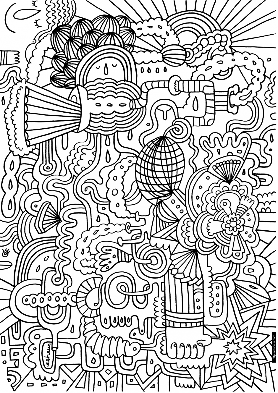hard drawings to color teenage coloring pages free printable coloring home to drawings hard color