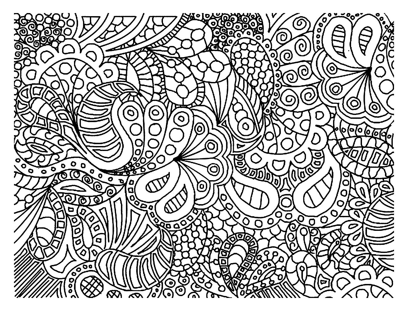 hard drawings to color trippy coloring pages for adults at getdrawings free color hard to drawings
