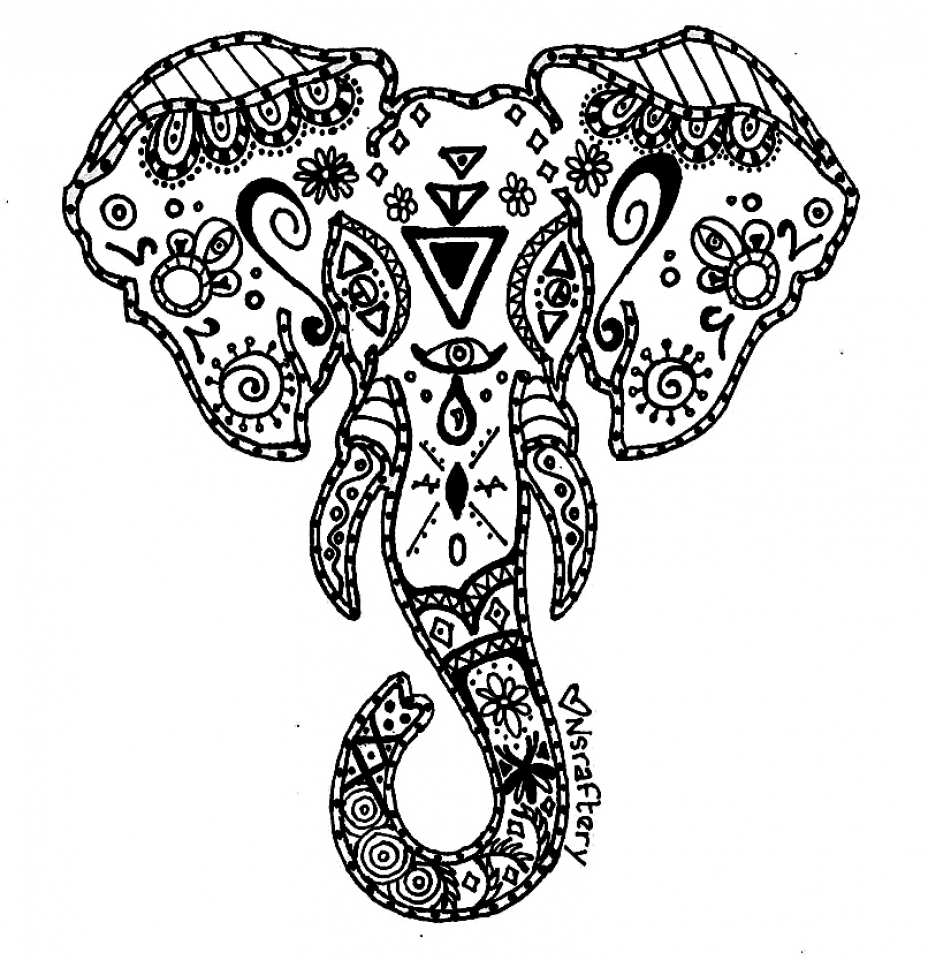 hard drawings to color unique hard elephant coloring pages drawing big hard to color drawings
