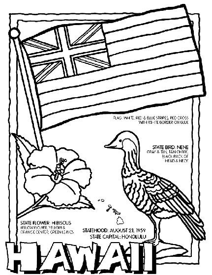 hawaii flag coloring page coloring pages for hawaii beaches coloring home flag page coloring hawaii