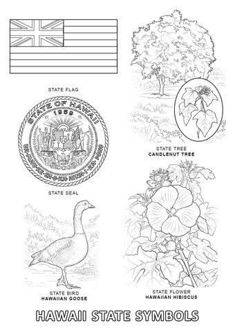 hawaii flag coloring page hawaiian coloring pages for kids clip art library page flag coloring hawaii