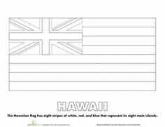 hawaii flag coloring page printable coloring pages of flags around the world world page flag hawaii coloring