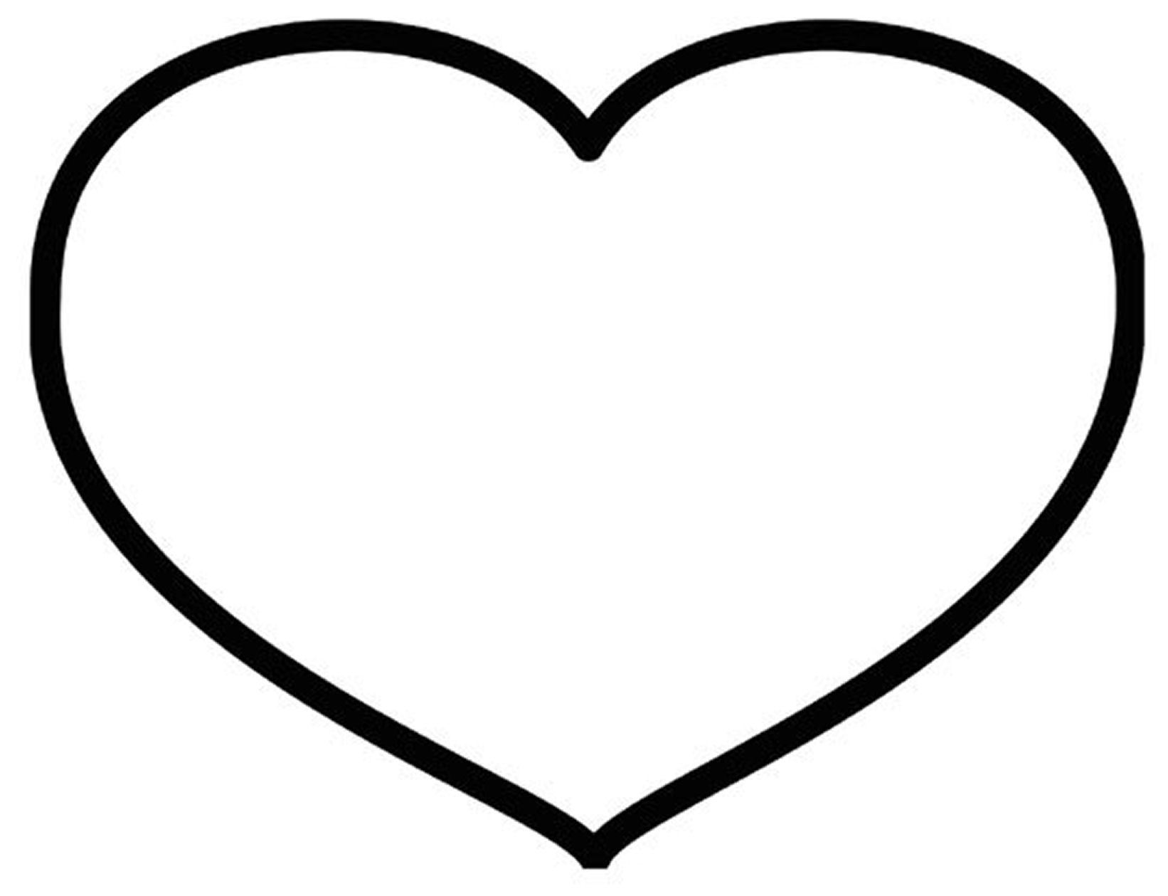 heart clipart coloring page heart clip art at clkercom vector clip art online page clipart heart coloring