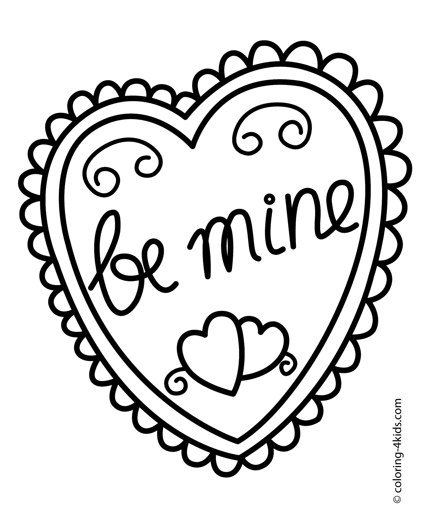 heart color pages detailed heart coloring pages at getcoloringscom free pages heart color