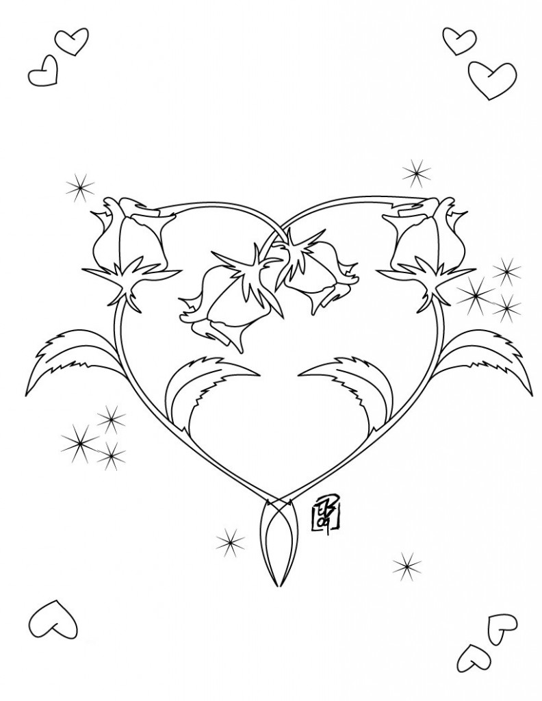 heart color pages free printable heart coloring pages for kids heart color pages