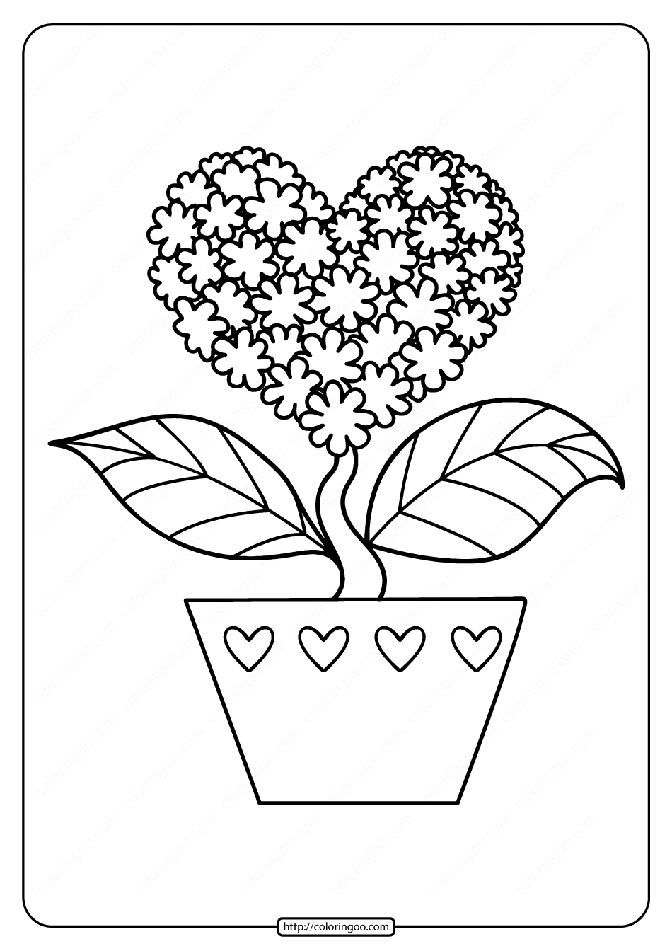heart color pages free printable heart shaped flower coloring page color heart pages